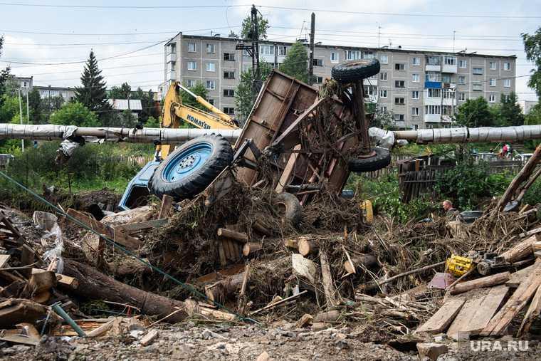 нижние серги наводнение как живут люди