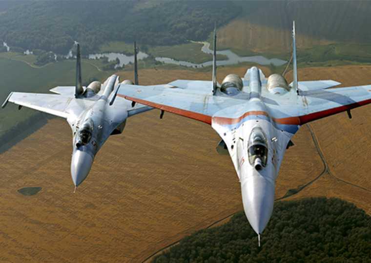 перехват американских самолетов