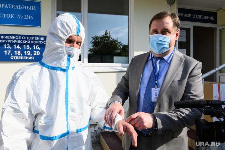 Гуманитарный груз из КНР для больниц СО. Екатеринбург