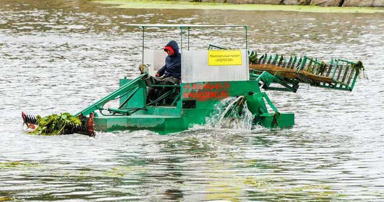 очистка реки Миасс в Челябинске