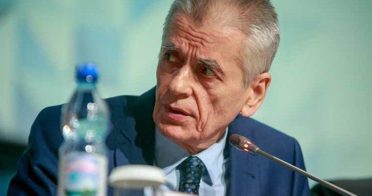 Онищенко уничтожение аппаратов ИВЛ неуважение США