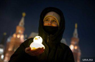 реакция Кремль акция фонарики